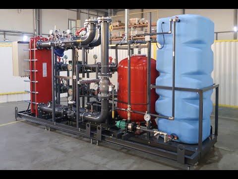 Блочный тепловой пункт БРАНТ 2,0 МВт.
