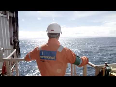 Subsea pipelines for the Maria field installed