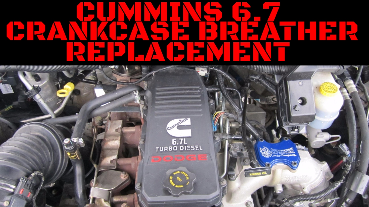 Cummins 6 7 Crankcase Breather Replacement Installation