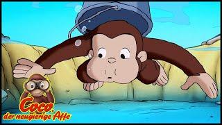 Coco der Neugierige Affe 🐵 Rettet Einen Fisch 🐵 Cartoons für Kinder🐵 Coco der Affe Ganze Folgen