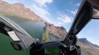 AH-1W Super Cobra Low Level Desert River Run Lake Havasu