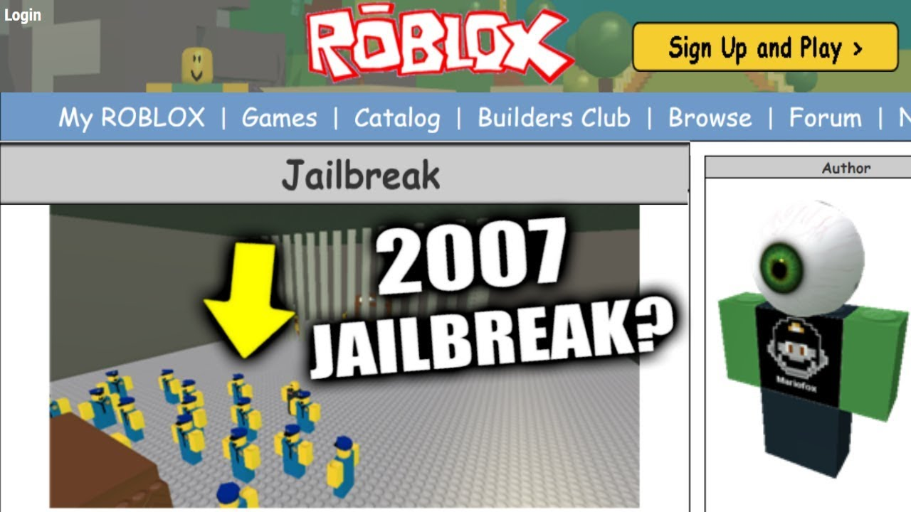HOW TO VISIT 2007 ROBLOX!