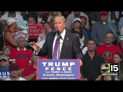FULL SPEECH: Donald Trump VERY PRESIDENTIAL in Everett, WA