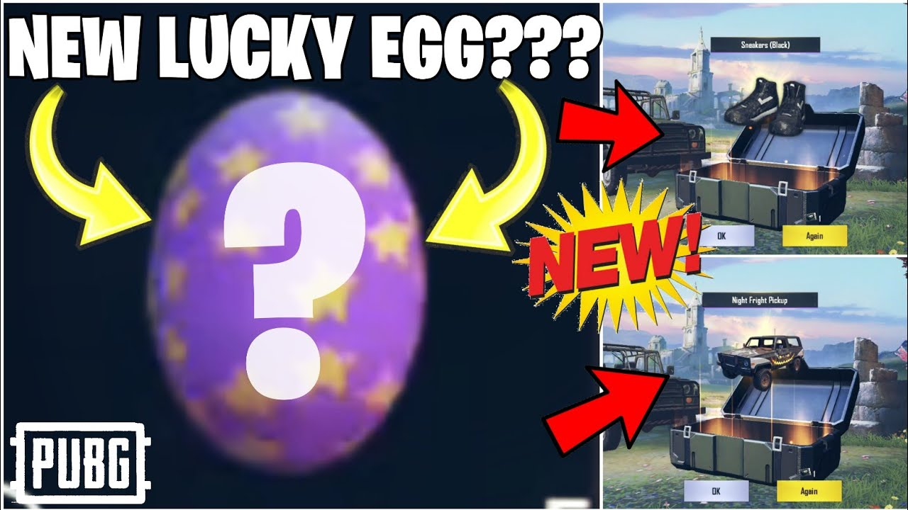 NEW LUCKY EGG EXPLAINED!! | AWESOME REWARDS | NEW UPDATE | CRATE OPENING -PUBG MOBILE