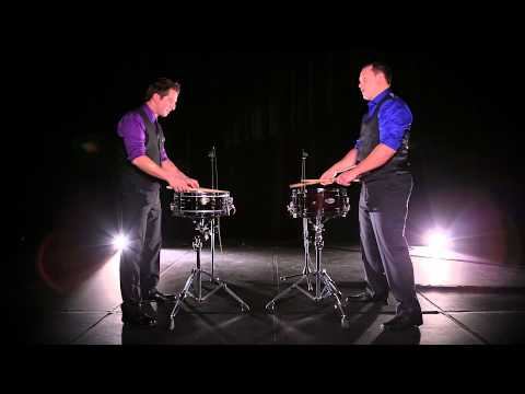 Duo Percussion plays
