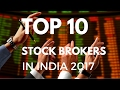 Top 10 Stock Brokers in India for 2019 [Updated]