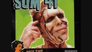 sum 41 playing the song Still Waiting from the album Does This Look...