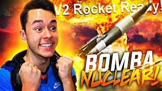 LA BOMBA NUCLEAR DE CALL OF DUTY: WW2 *RACHA OCULTA COHETE V2* - TheGrefg