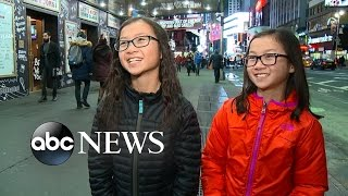 Identical Twins Reunited on 'GMA' Explore NYC...