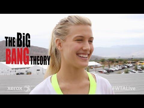 Genie Bouchard | WTA Live Fan Access presented by Xerox | 2015 BNP Paribas Open