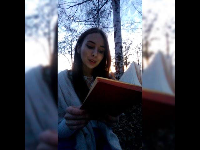 Изображение предпросмотра прочтения – КристинаСтрельцова читает произведение «Кошки» М.И.Цветаевой