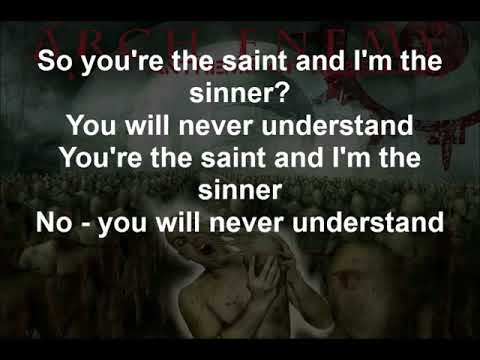 Saints And Sinners - Arch Enemy - Lyrics - 2003