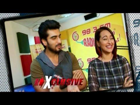 Arjun Kapoor and Sonakshi Sinha's EXCLUSIVE Interview | Tevar Movie