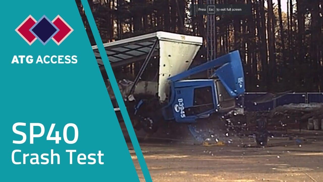 Sp40 Fixed Hvm Bollard Crash Test Pas 68 Rated Atg Access