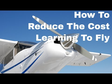 Private Pilot Licence   How To Reduce The Cost Of Learning To Fly & Getting A Private Pilots License