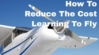 private pilot licence how to reduce the cost of learning to fly getting a private pilots license