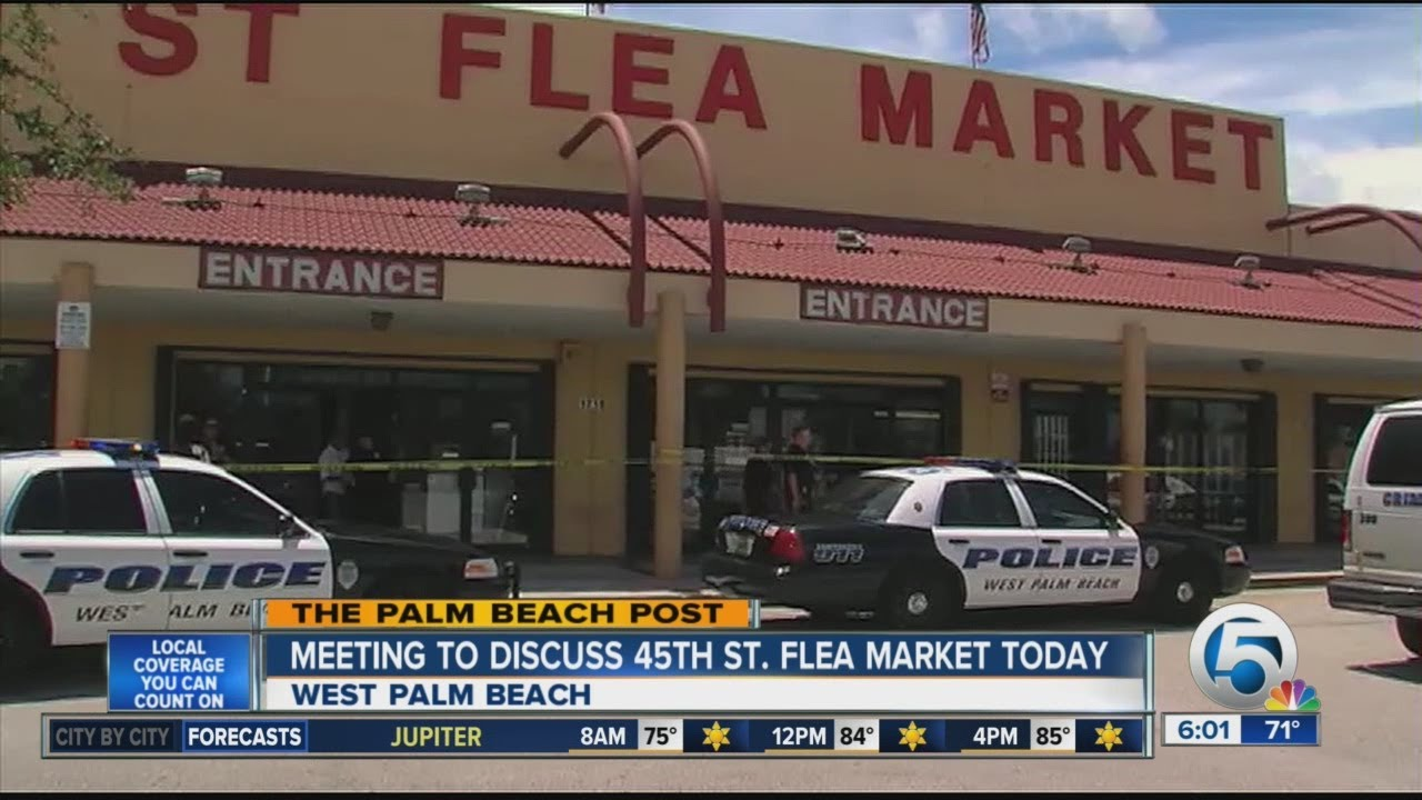 Troubled 45th Street Flea Market Up For Debate