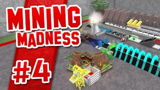 Mining Madness #4 - RAPID UPGRADES (Roblox Mining Madness)