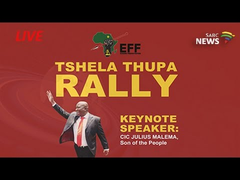 EFF's final Tshela Thupa rally 2016