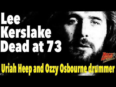 Lee Kerslake, Ozzy Osbourne and Uriah Heep Drummer, Dead at 73