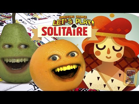 Pear and Annoying Orange Play - *Solitaire*