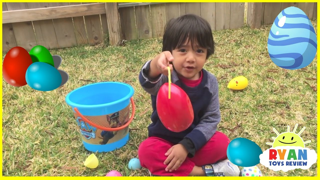 Easter Egg Hunt For Surprise Eggs And Kids Toys Youtube