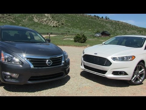 2013 Ford Fusion vs Nissan Altima 0 60 MPH Mile High