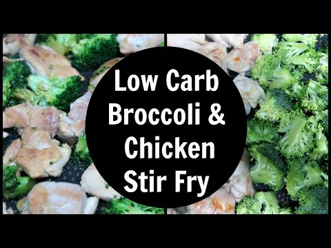 Broccoli & Chicken Stir Fry Recipe | Low Carb, Keto & Paleo Recipes