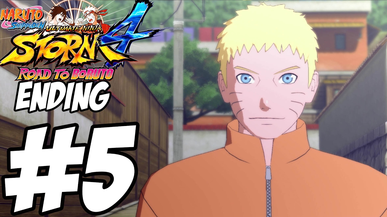 Naruto Storm 4: Road to Boruto ENDING Gameplay Walkthrough Part 5
