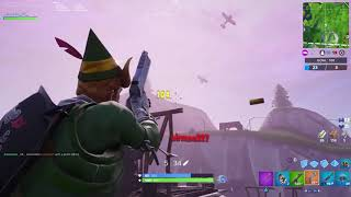 Fortnite Codename Elf Montage, Pistol Pistol. PS4 Gameplay.