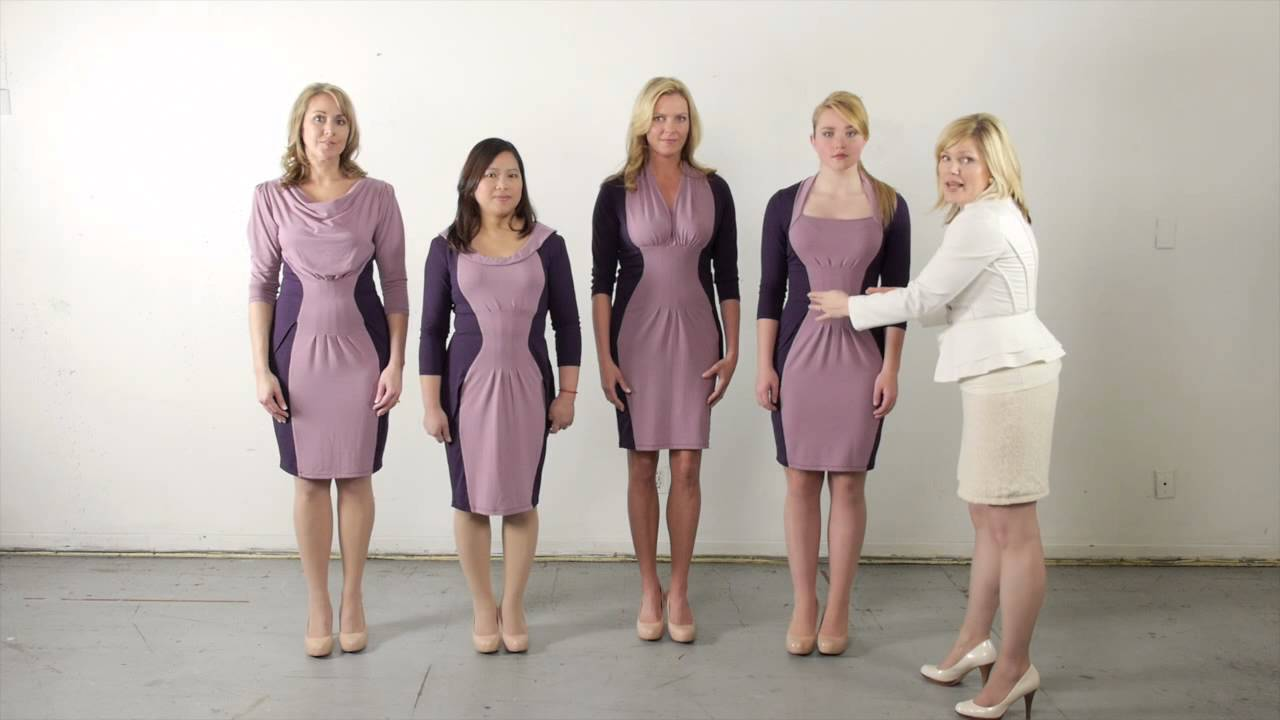 6509653a1bc41 DRES  Clothing for your Body Shape - YouTube