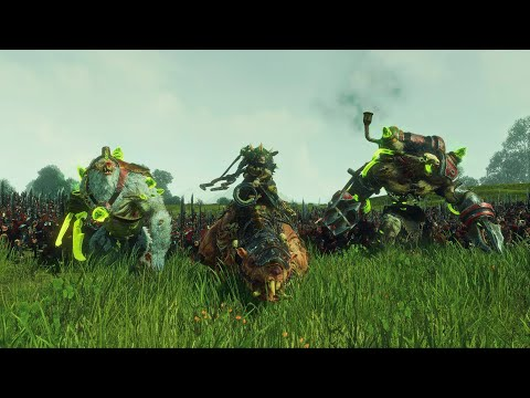 The Twisted and the Twilight | 25,000 Unit Cinematic Battle | Total War Warhmmer 2 |