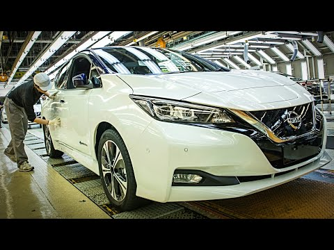 Nissan LEAF Manufacturing - NISSAN Production and Assembly | HOW IT