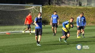 ALLENAMENTO INTER REAL AUDIO 07 11 2015