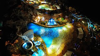 Stage Show of Ocean Flower Island Water Park Hainan China