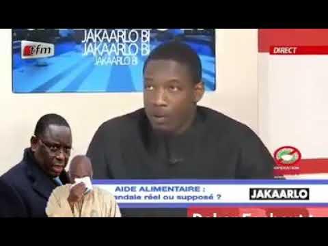 Pape Djibril Fall TFM cri de cœur