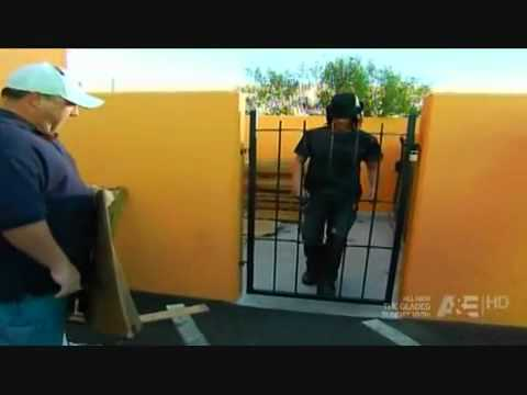 Criss Angel - Walk Through Metal Gate