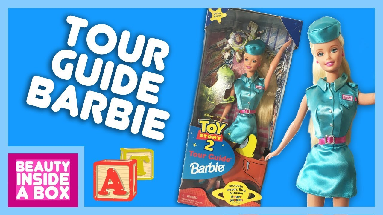 Tour Guide Barbie Doll