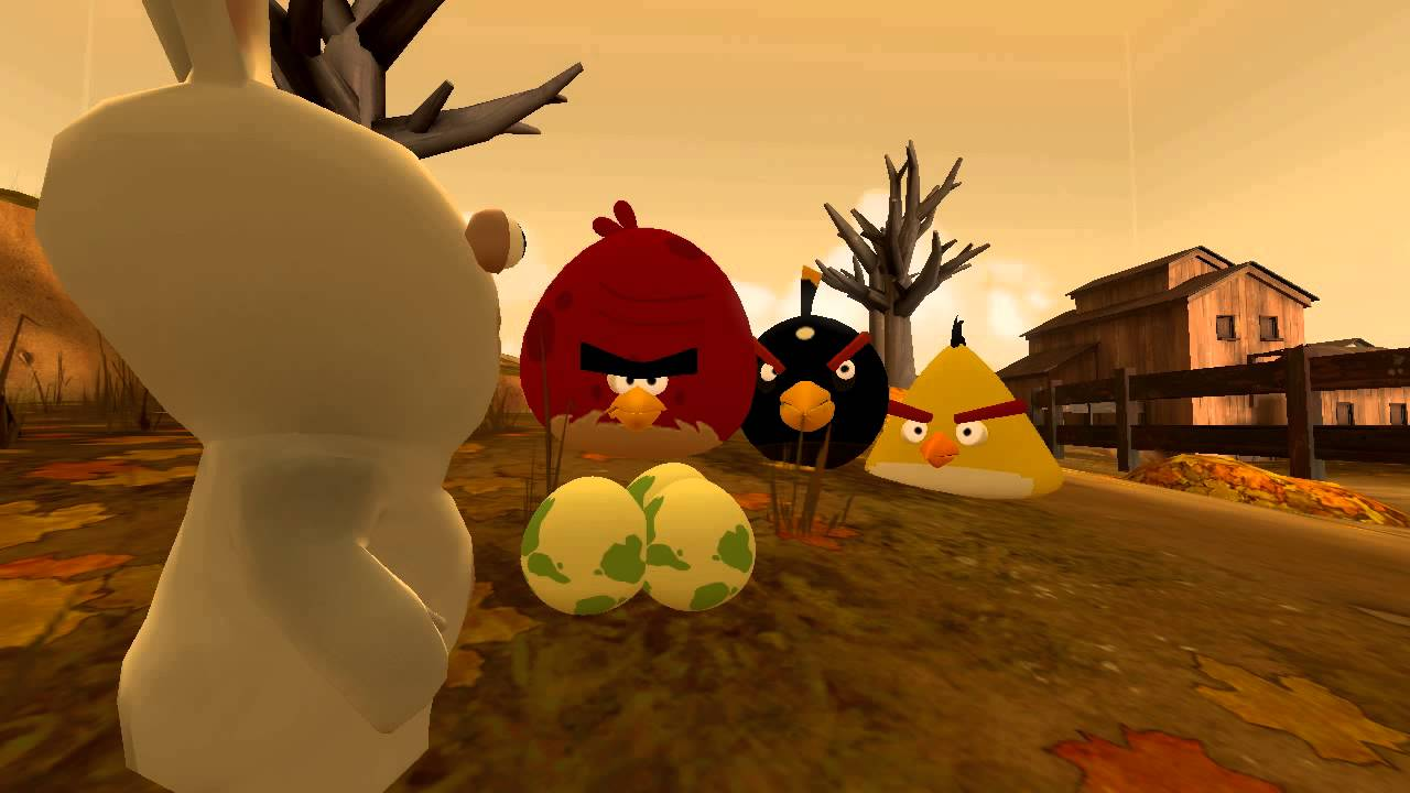 Rabbids Fail At Egg Snatching YouTube