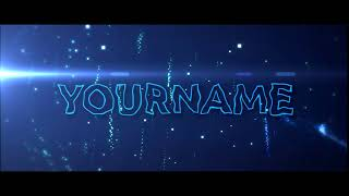 Free Blue Trailer Sony Vegas Pro Intro Template #1