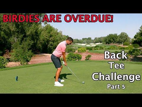 BIRDIES ARE OVERDUE! | Back Tee Challenge - Part 5/6