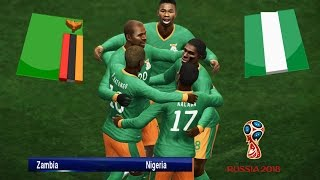 2018 WORLD CUP QUALIFIERS - ZAMBIA v NIGERIA - PES 2013