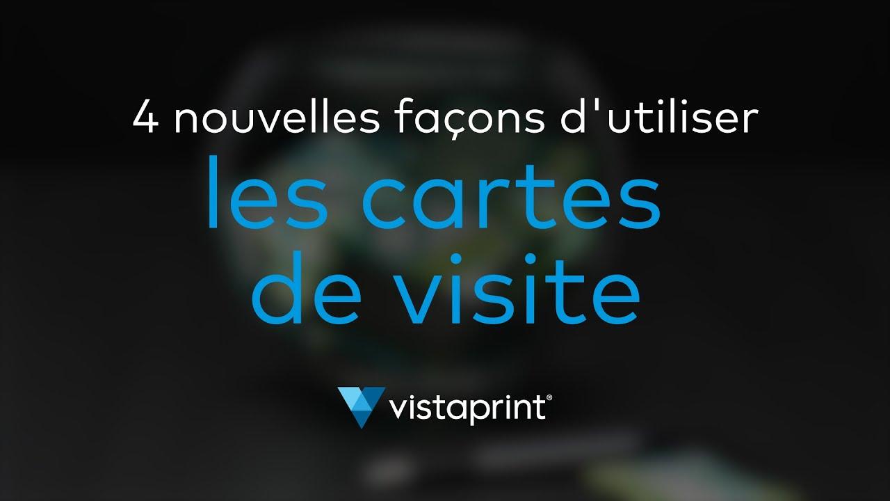 carte de visite vista print 4 nieuwe manieren om visitekaartjes te gebruiken | Vistaprint