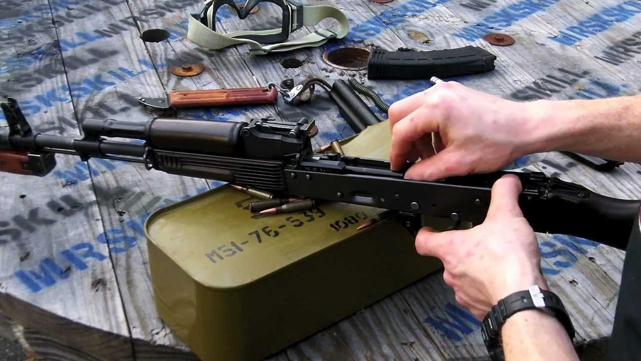 How To: Build a AK-74 From a Bulgarian Parts Kit PART 9 in HD