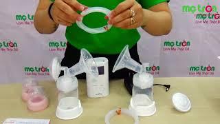 Máy hút sữa điện đôi có trữ điện Spectra 9 Plus - metron.vn - Sự lựa chọn hàng đầu cho mẹ hiện đại