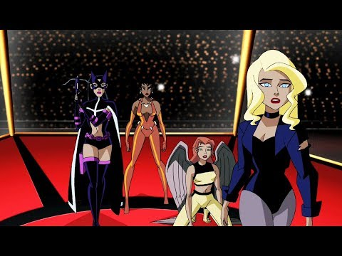 Justice League Girls vs Wonder Woman | Justice League Unlimited