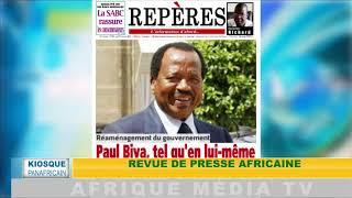 KIOSQUE PANAFRICAIN  DU  07 01 2019
