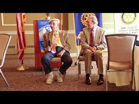 Ken Meyer Presentation to Union Rotary