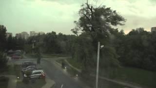 Nadciąga nawałnica - Kraków, burza 8 lipca 2015