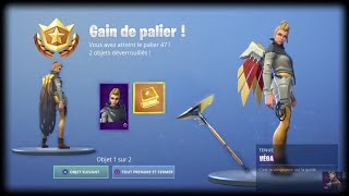 FORTNITE: ALL SKIN VEGA DEFIEs and REPENSES, tier 47, styles, backpack, free pickaxe!